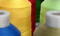 Bobbins with Multicolored Threads for Sewing Presentation Presentation Template