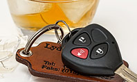 Alcoholic Drink and Car Keys on Table Presentation Presentation Template