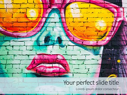 Street Art Presentation Presentation Template, Master Slide
