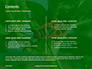 Firebug Pyrrhocoris Apterus on Green Twig Presentation slide 2