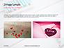 Heart Shape Drawn on Sheet of Paper Presentation slide 11