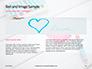 Heart Shape Drawn on Sheet of Paper Presentation slide 14
