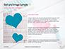 Heart Shape Drawn on Sheet of Paper Presentation slide 15