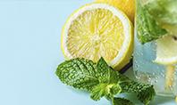 Cucumber Lemon and Mint Water Presentation Presentation Template