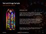 Spiral Stained Glass Window Presentation slide 15