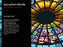 Spiral Stained Glass Window Presentation slide 9