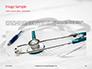 Medical Stethoscope on Hospital Bed Presentation slide 10