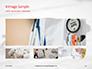 Medical Stethoscope on Hospital Bed Presentation slide 13