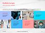 Medical Stethoscope on Hospital Bed Presentation slide 17