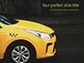 Yellow Taxi Cab Presentation slide 1