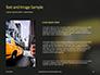 Yellow Taxi Cab Presentation slide 15