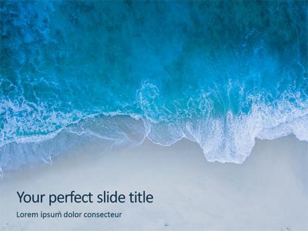 Ocean Surf Foam Presentation Presentation Template, Master Slide