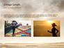Low Angle View of Man Running on Asphalt Road Presentation slide 11
