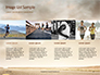 Low Angle View of Man Running on Asphalt Road Presentation slide 16