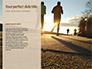 Low Angle View of Man Running on Asphalt Road Presentation slide 9