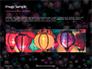 Colorful Paper Crane Lanterns Presentation slide 10