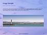Lighthouse Silhouette Against Purple Sky Presentation slide 10