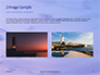 Lighthouse Silhouette Against Purple Sky Presentation slide 11