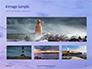 Lighthouse Silhouette Against Purple Sky Presentation slide 13