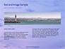 Lighthouse Silhouette Against Purple Sky Presentation slide 14