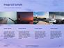 Lighthouse Silhouette Against Purple Sky Presentation slide 16