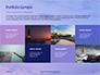 Lighthouse Silhouette Against Purple Sky Presentation slide 17