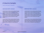 Lighthouse Silhouette Against Purple Sky Presentation slide 5