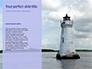 Lighthouse Silhouette Against Purple Sky Presentation slide 9