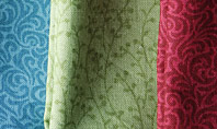 Colorful Silk Fabric Presentation Presentation Template