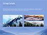 Mountain Peaks in Blue Morning Fog Presentation slide 12