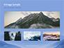 Mountain Peaks in Blue Morning Fog Presentation slide 13