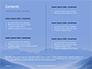 Mountain Peaks in Blue Morning Fog Presentation slide 2