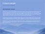 Mountain Peaks in Blue Morning Fog Presentation slide 4