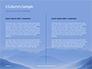 Mountain Peaks in Blue Morning Fog Presentation slide 5