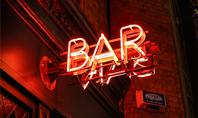 Neon Bar Sign Presentation Presentation Template