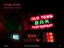 Neon Bar Sign Presentation slide 13