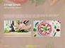 Frame of Organic Vegetables Presentation slide 11