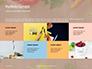 Frame of Organic Vegetables Presentation slide 17