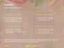 Frame of Organic Vegetables Presentation slide 2