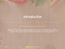 Frame of Organic Vegetables Presentation slide 3
