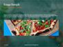 Pizza-Sign with Flour Tomato-Sauce Garlic and Mozzarella Presentation slide 10