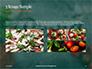 Pizza-Sign with Flour Tomato-Sauce Garlic and Mozzarella Presentation slide 12