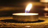Candles Lit on Occasion of Diwali Festival Presentation Presentation Template