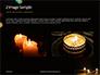 Candles Lit on Occasion of Diwali Festival Presentation slide 11