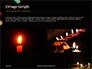 Candles Lit on Occasion of Diwali Festival Presentation slide 12