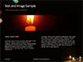 Candles Lit on Occasion of Diwali Festival Presentation slide 14