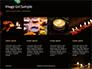 Candles Lit on Occasion of Diwali Festival Presentation slide 16