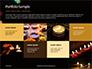 Candles Lit on Occasion of Diwali Festival Presentation slide 17