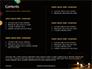 Candles Lit on Occasion of Diwali Festival Presentation slide 2