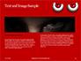 Cartoon Evil Red Eyes on Red Background Presentation slide 14